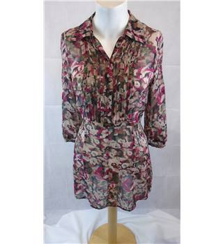 SUPERB PLANET SHIRT DRESS, SIZE 8 Planet - Size: 8 - Multi-coloured - Blouse