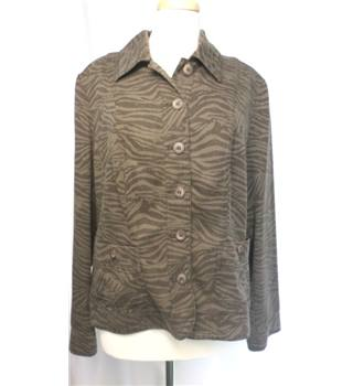 Viyella - Size: 16 - Brown - Jacket