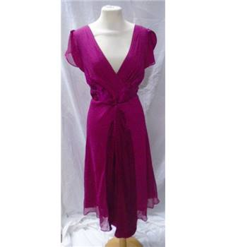 Phase 8 - Size: 14  Deep pink after eight dress