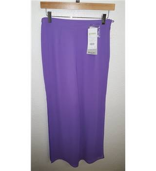 "Brand New with Tags Michaela Louisa London Trousers Michaela Louisa London - Size: 28"" - Purple"