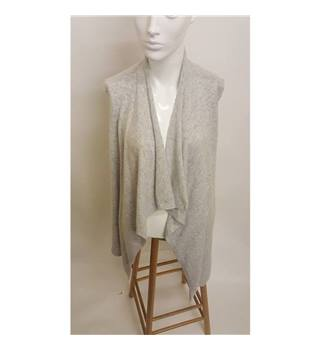 Duffy Draped cashmere vest Duffy - Size: S - Grey - Cardigan