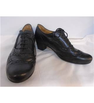 Gabor - Size: 5.5 - Black - Brogues