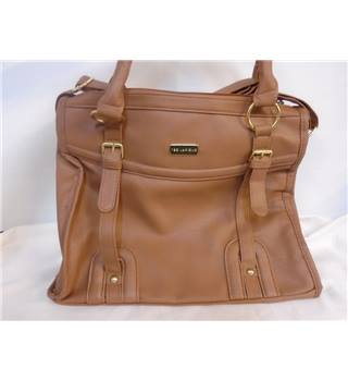 Ted Lapidus - Size: M - Brown - Shoulder Handbag