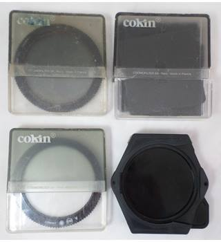 Cokin 55mm dia Filters, Pre-Shaped Frames and Carrier