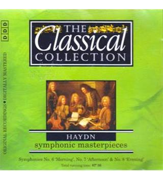 HAYDN SYMPHONIC MASTERPIECES