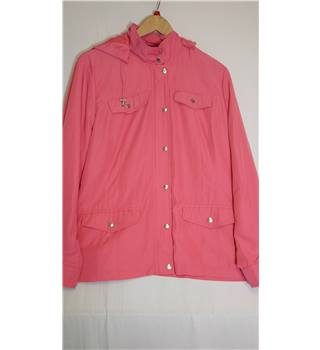 Marks and Spencers pink raincoat BNWT 18 M&S Marks & Spencer - Size: 18 - Pink