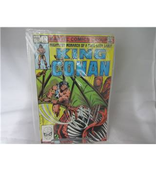 1982 marvel comics group 13 november issued King Conan
