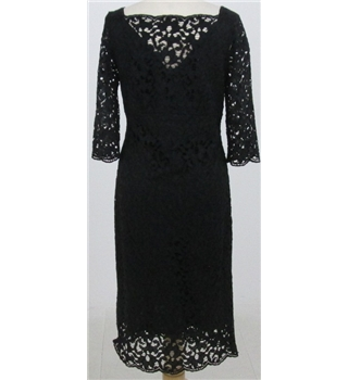 NWOT M&S Autograph size: 10 black lace dress