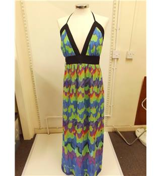 WOMENS Jane Norman size 12 maxi dress Jane Norman - Size: 12 - Multi-coloured - Strapless dress