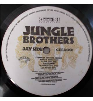 Straight out the jungle Jungle Brothers - GEEA001