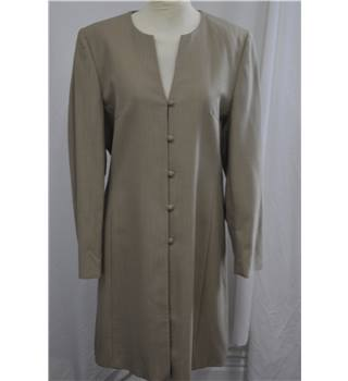 Viyella: Size 12, Coat Viyella - Size: 12 - Brown - Smart jacket / coat