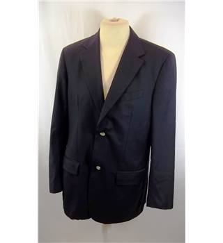 Banana Republic - Size: M - Blue - Single breasted suit jacket