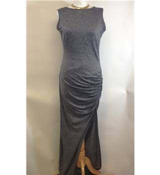 Women's Dress River Island - Size: 12 - Grey - Sleeveless