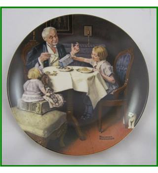 Knowles USA - Limited edition - china plate - Rockwell