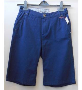 "NWOT Per Una ""Roma"" Size 8 navy with white dots shorts"