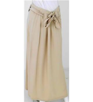 NWOT M&S Collection size 14 Beige Long Skirt