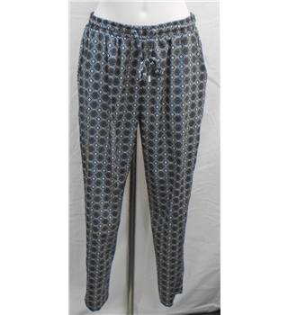 New Look black/white trousers Size 14
