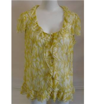 Marks and Spencer Per Una Top - Size - 22 - Yellow
