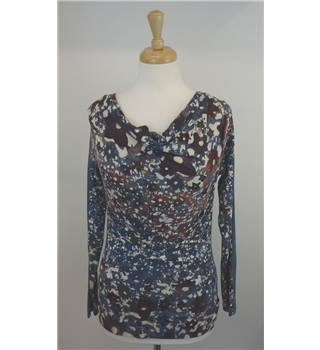 Sandwich Extra Small blue patterned top. Sandwich - Size: XS - Blue