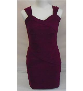 Parisisian Dress - Size - 12 - Purple
