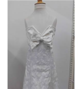 Womens White Sara Isabella Dress Sara Isabella - Size: 6 - White - Evening dress
