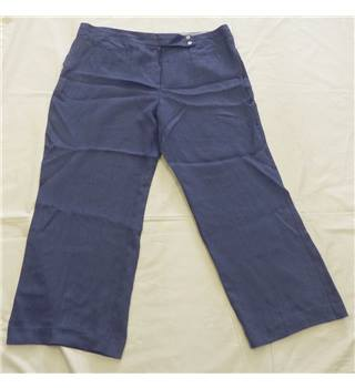 BNWT - Per Una (M&S) - Size 22 - Denim Blue - Trousers