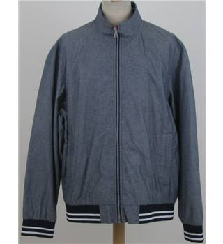 NWOT M&S Blue Harbour size: XL blue bomber jacket