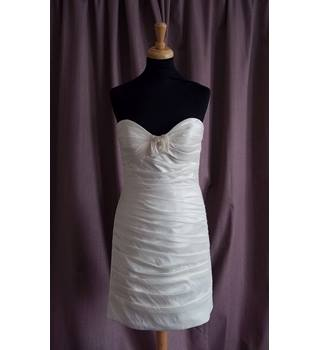 Venus, Ivory Mini Wedding Dress, Size 8, BNWOT