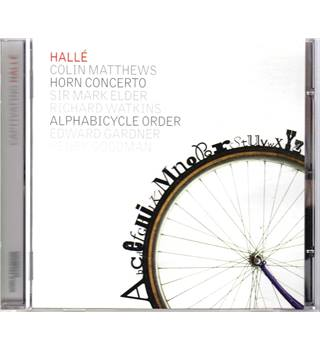 Colin Matthews - Horn Concerto, Alphabicycle Order CD