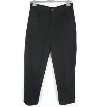 "Raphael Valencino Size: M, 34"" waist, 29"" inside leg Black Casual/Stylish Cotton Blend Straight Leg Corded Jeans"