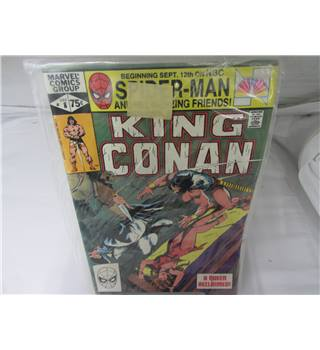 1981 Marvel Comics Group King Conan issue December 8