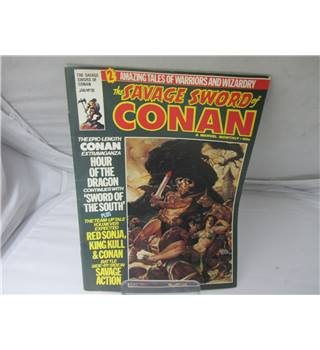 Vintage The Savage Sword of Conan no 39 january
