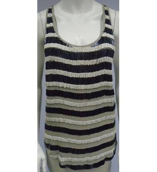 All Saints - Multi-coloured - Hand Embellished Sleeveless Top
