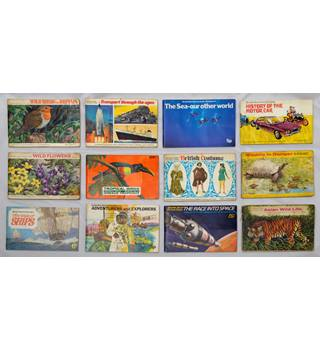 A collection of Brooke Bond Tea Cards in Albums