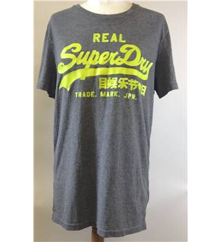 Superdry - Grey top - Size M