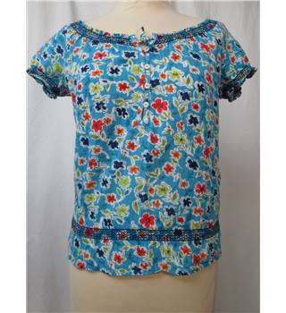 Hollister size: XS light blue floral blouse