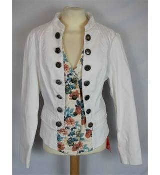 Joe Brown's  Size: 12 Cream & floral  Casual Jacket