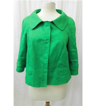 Hobbs - Size: 12 - Green - Smart jacket