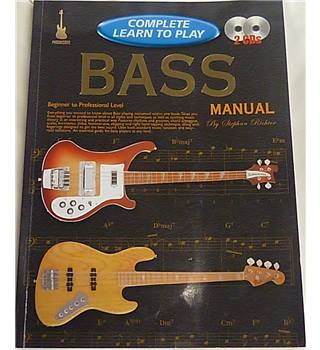 Learn to Play Bass: Complete Learn to Play Bass Manual