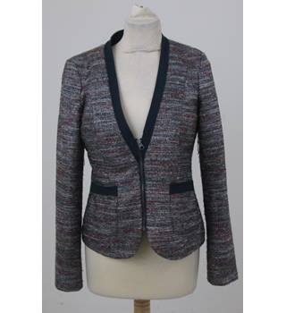 EDC - Size: S - Grey, pink and silver jacket