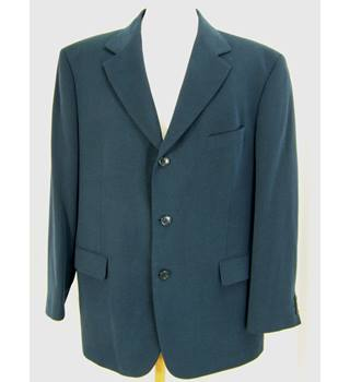 M&S Marks & Spencer - Size: C44 S - Blue - Single breasted blazer