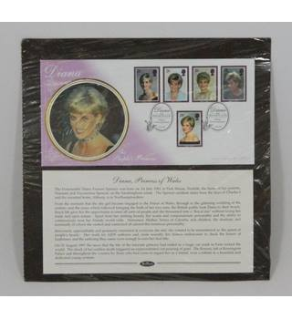 Princess Diana Commemorative Mounted Stamp Collection