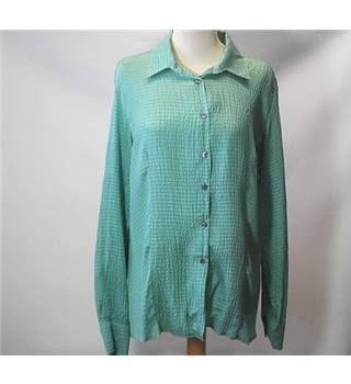 Jasper Conran Size 12 Green Long Sleeved blouse