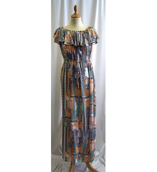 Sisters of the tribe - Size: S/M - Multi-coloured - Full length dress