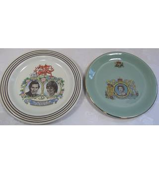 Two Royal plates