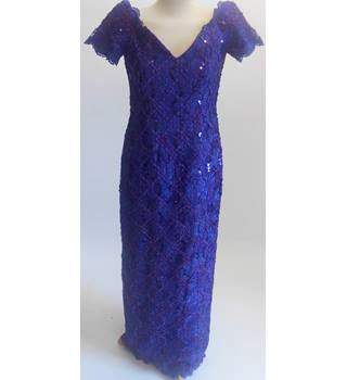 after six - Size: 12 - Purple - Evening dress