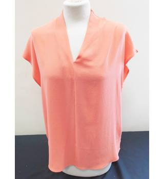 Viz-a-Viz - Size: 12/14 - Orange - Sleeveless top