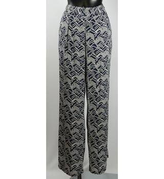 Monsoon Trousers - Multicoloured - Size M (Long) Monsoon - Size: M - Multi-coloured