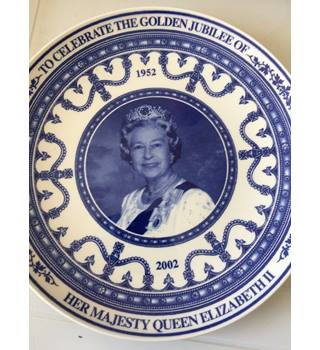 Wedgewood Daily Mail Golden Jubilee Plate