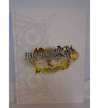 Final fantasy Type 0-HD - Official Strategy Guide - Hardback Book